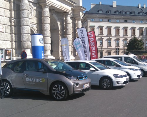 E-Mobility on Stage © bmvit