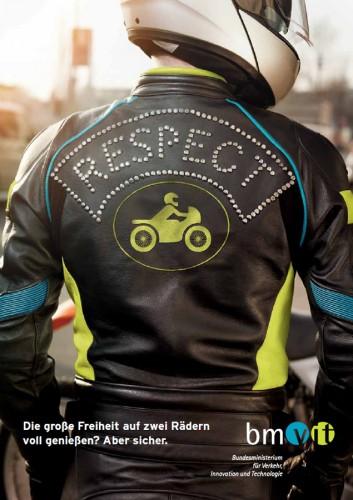 respect Broschüre Motorrad