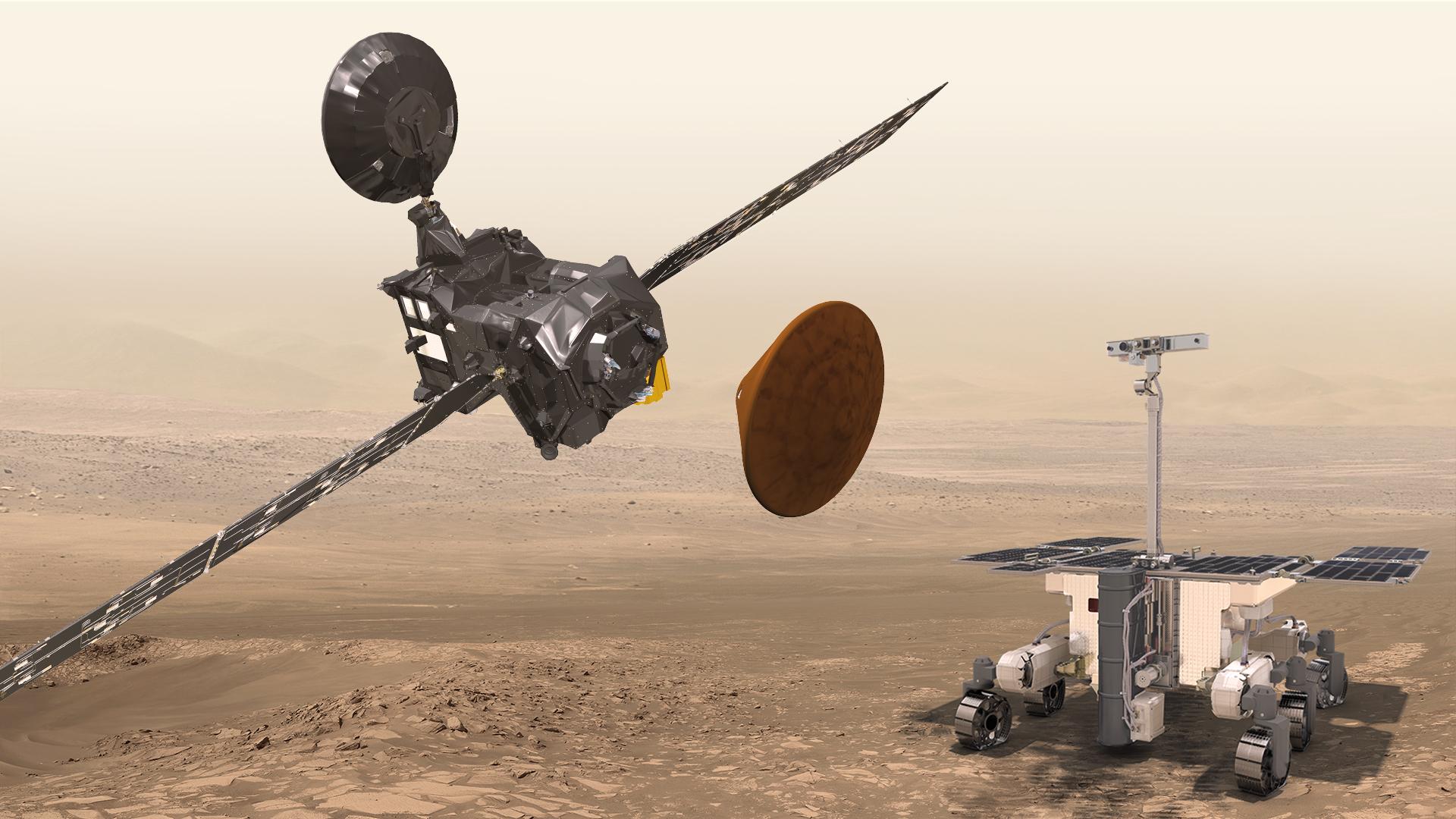 Flugdauer Mars